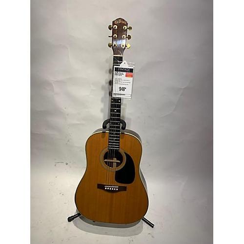 In Store Vintage Vintage 1970s A Lo Prinzi LR-15 Natural Acoustic Guitar