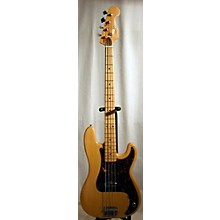 Vintage 1970s Cortez P Bass Copy Natural Electric Bass Guitar