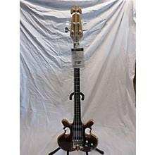 Vintage 1970s Custom Made Vintage Natural Electric Bass Guitar