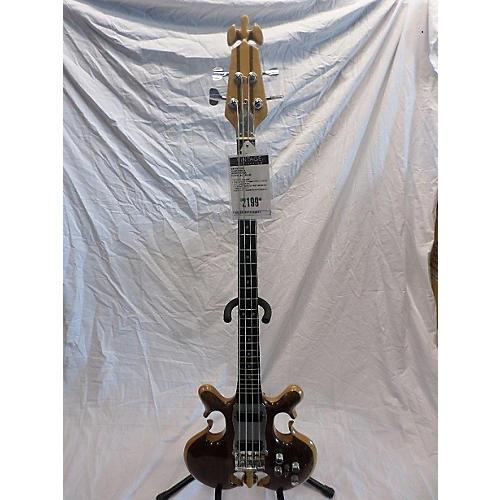 In Store Vintage Vintage 1970s Custom Made Vintage Natural Electric Bass Guitar