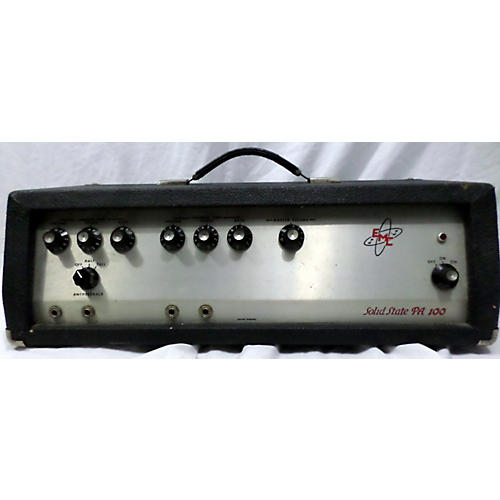 In Store Vintage Vintage 1970s EMC PA100 Solid State Guitar Amp Head