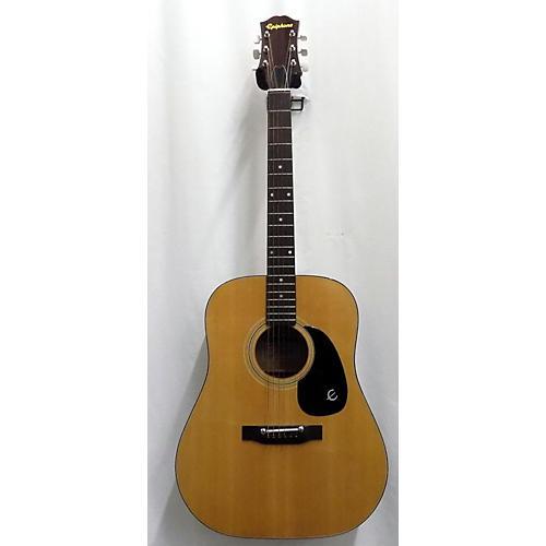 In Store Vintage Vintage 1970s Epiphone NORLIN FT140 Natural Acoustic Guitar