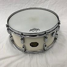 Vintage 1970s Gretsch 6.5X14 4153 Snare Drum Vintage White