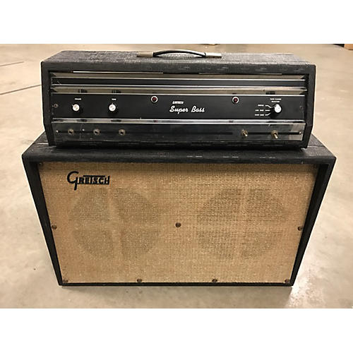 In Store Vintage Vintage 1970s Gretsch Super Bass Tube Guitar Combo Amp