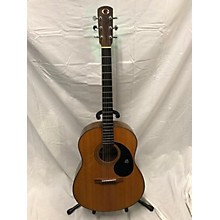 Vintage 1970s Gurian S3M Natural Acoustic Guitar