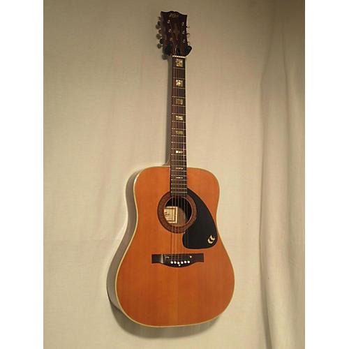 In Store Vintage Vintage 1970s Kapa A710 Natural Acoustic Guitar