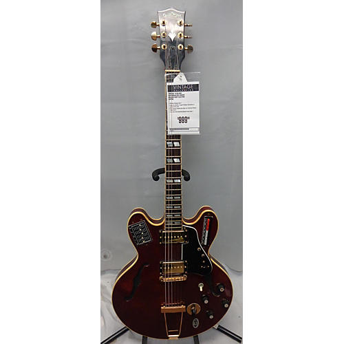 In Store Vintage Vintage 1970s MCI Guitorgan B35 Cherry Hollow Body Electric Guitar