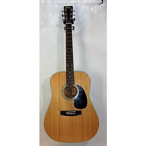 In Store Vintage Vintage 1970s MORRIS W-30 Natural Acoustic Guitar