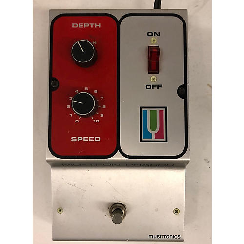 In Store Vintage Vintage 1970s Musitronics MU-TRON Phasor Effect Pedal