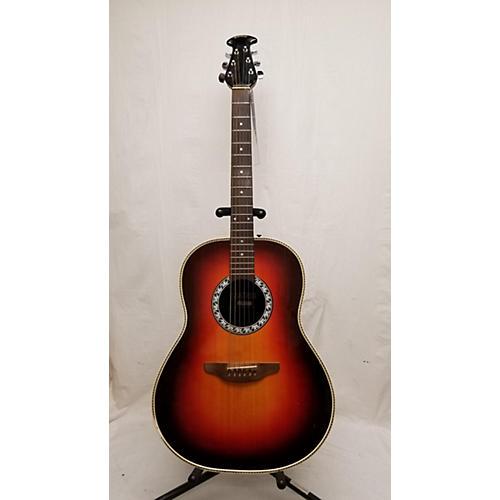 In Store Vintage Vintage 1970s Ovation Matrix 1137 Sunburst Acoustic Guitar