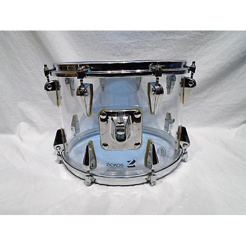 In Store Vintage Vintage 1970s Zickos 4 piece Acrylic Clear Acrylic Drum Kit