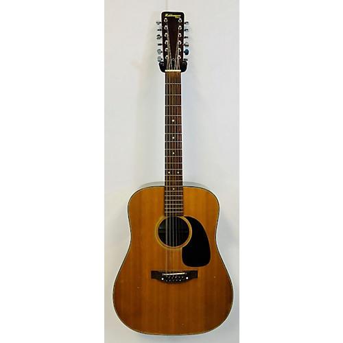 In Store Vintage Vintage 1974 Rokkomann Deluxe 12 String Natural Acoustic Guitar