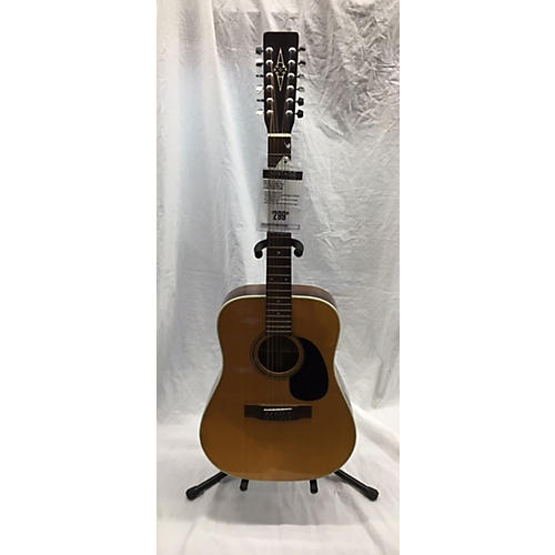 In Store Vintage Vintage 1978 1978 Vintage Alvarez 5054 12 String Natural 12 String Acoustic Guitar