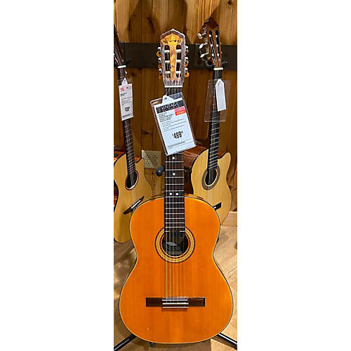 In Store Vintage Vintage 1978 DiGeorgio Conservatory Model 1 Natural Classical Acoustic Guitar