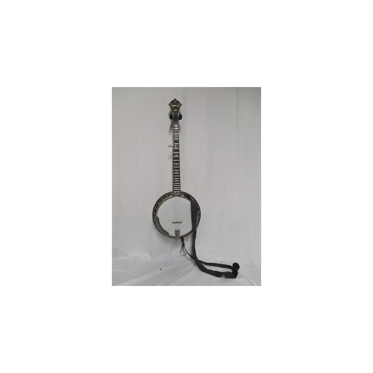 In Store Vintage Vintage 1978 Stelling Bellflower Natural Banjo