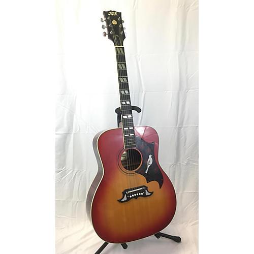 In Store Vintage Vintage 1980s Aspen DH32 Heritage Cherry Acoustic Guitar