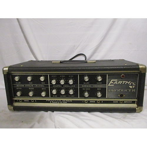 In Store Vintage Vintage 1980s Earth Sound Producer Head Solid State Guitar Amp Head