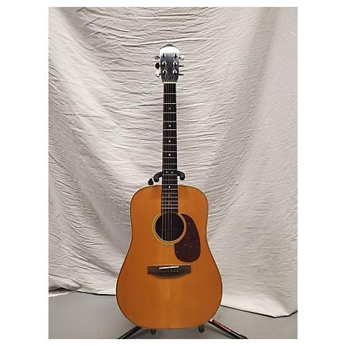 In Store Vintage Vintage 1980s Fritz Brothers Herringbone Natural Acoustic Guitar