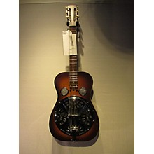 Vintage 1992 Dobra 60D Sunburst Resonator Guitar