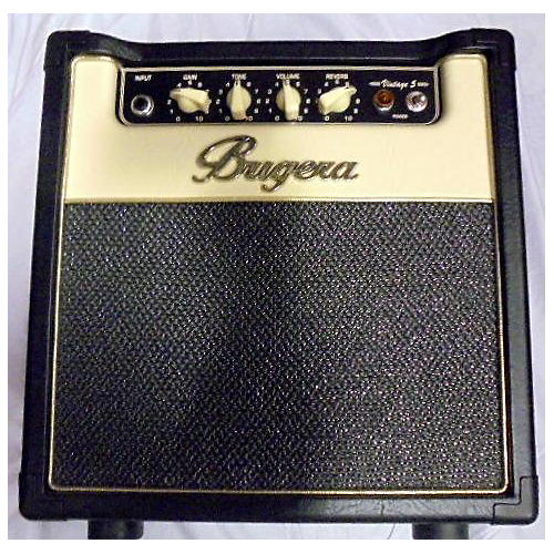Bugera Vintage 5 1X8 Tube Guitar Combo Amp