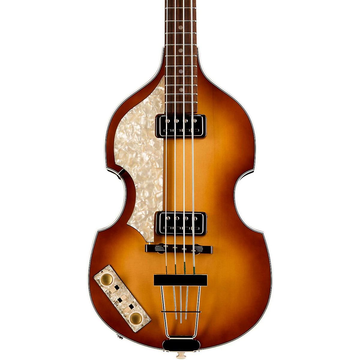 Hofner Vintage '62 Violin Left-Handed Electric Bass Guitar