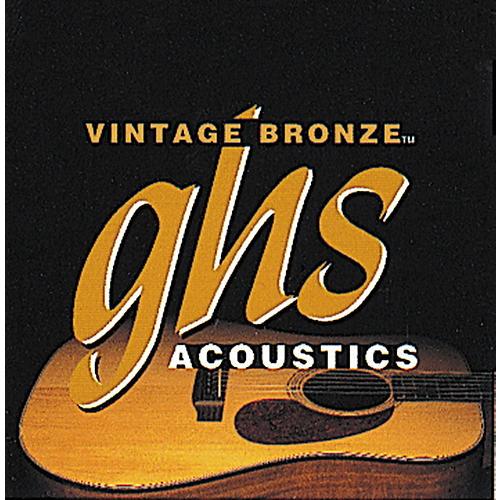 GHS Vintage Bronze 85/15 Acoustic Strings Extra Light