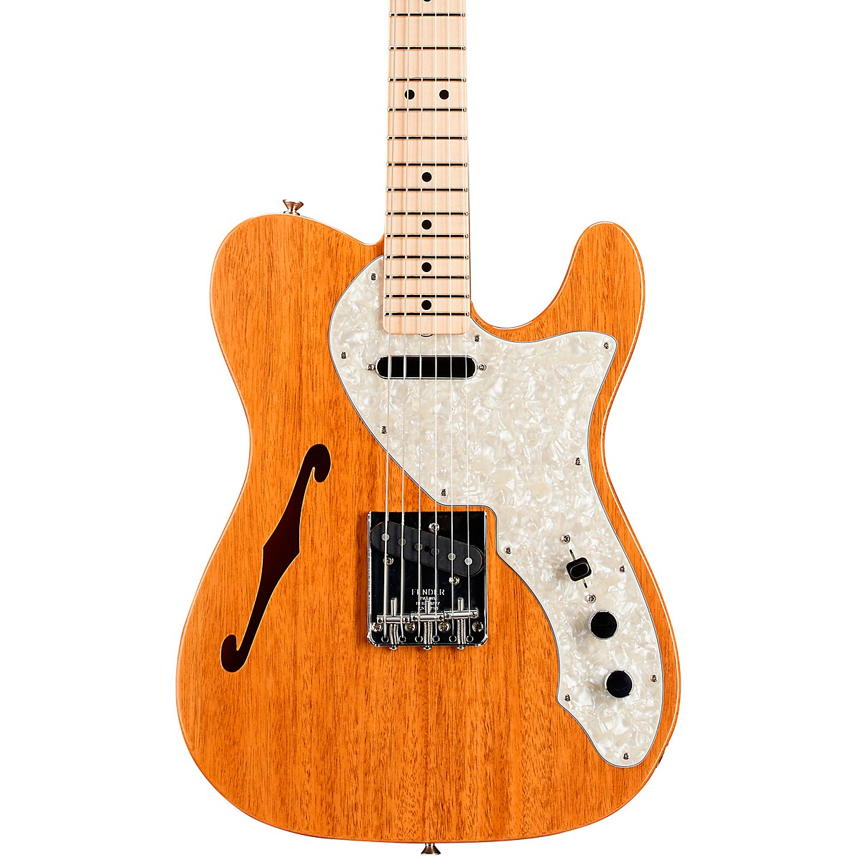 Fender Custom Shop Vintage Custom 1968 Telecaster Thinline Electric Guitar