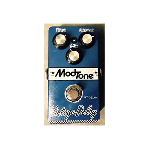 Modtone Vintage Delay Blue Effect Pedal