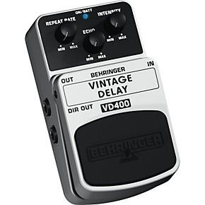 behringer vintage delay vd400 analog delay effects pedal guitar center. Black Bedroom Furniture Sets. Home Design Ideas