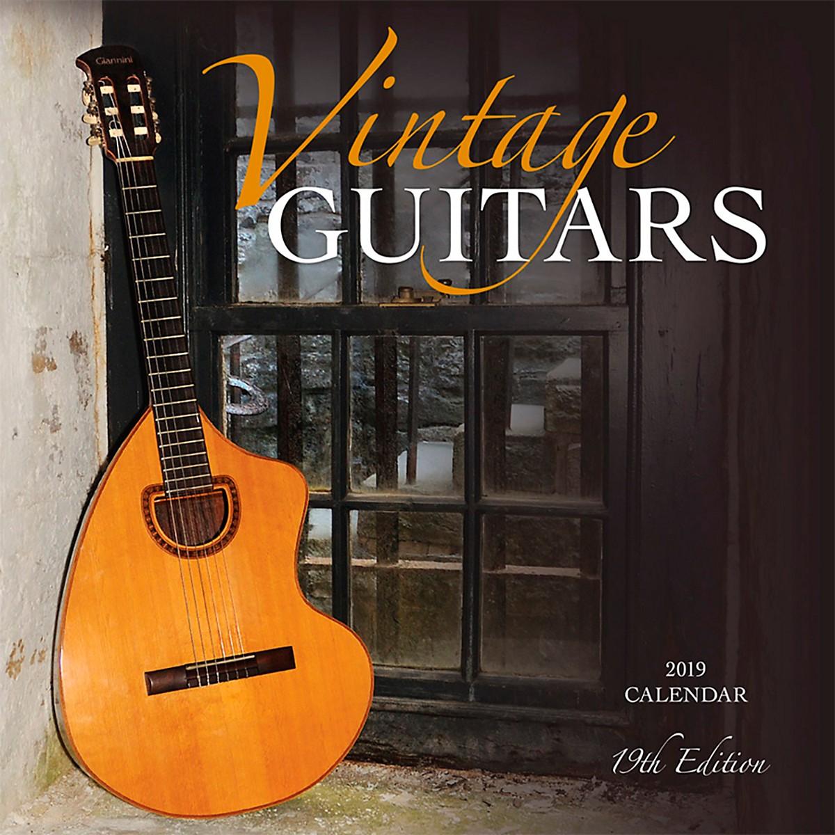 Browntrout Publishing Vintage Guitars 2019 Wyman Calendar
