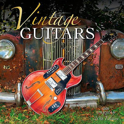 Browntrout Publishing Vintage Guitars 2020 Calendar
