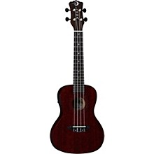 Luna Guitars Vintage Mahogany Concert Cutaway Acoustic-Electric Ukulele