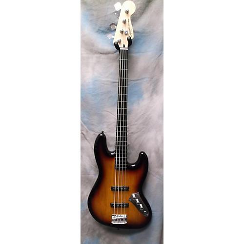 Squier Vintage Modified Fretless Jazz Bass 3 Color Sunburst Electric Bass Guitar
