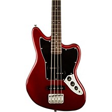 Vintage Modified Jaguar Bass Special SS (Short Scale) Candy Apple Red