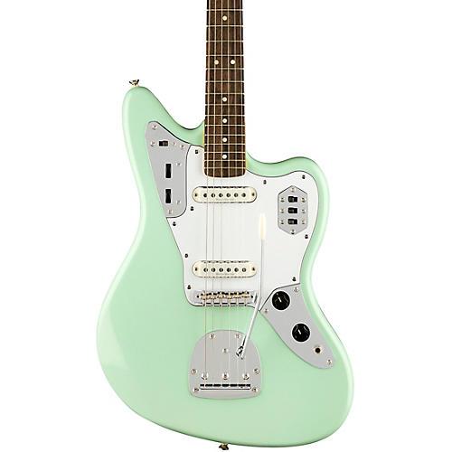 squier vintage modified jaguar electric guitar surf green guitar center. Black Bedroom Furniture Sets. Home Design Ideas