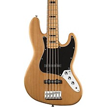 Vintage Modified Jazz Bass V 5-String Electric Bass Natural