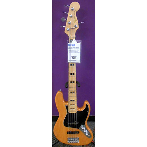 Squier Vintage Modified Jazz Bass V Natural Electric Bass Guitar