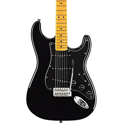 Squier Vintage Modified Stratocaster 70s Electric Guitar Black