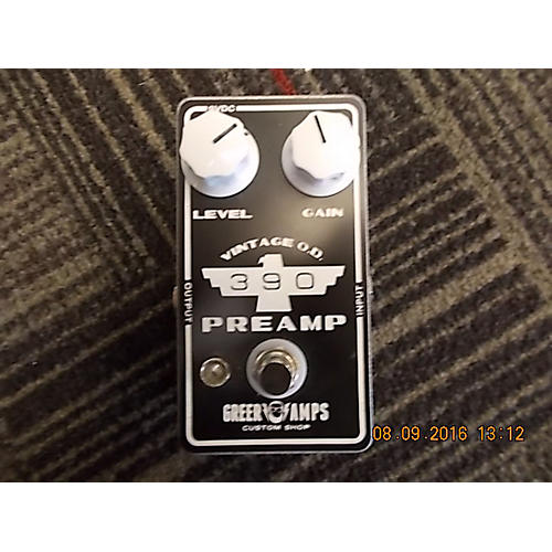 Greer Amplification Vintage OD 390 Preamp Effect Pedal