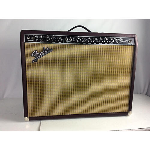 used fender vintage reissue 1965 twin reverb neo tube guitar combo amp guitar center. Black Bedroom Furniture Sets. Home Design Ideas
