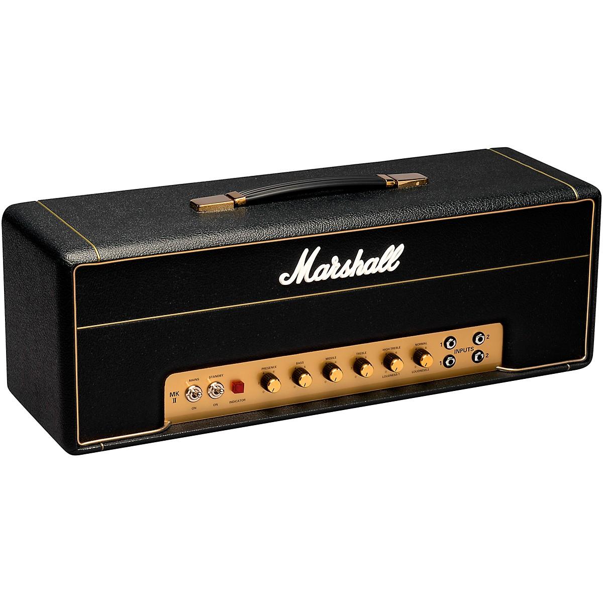 Marshall Vintage Series Plexi 50 Watt 3 Band EQ Tube Guitar Amplifier Head with FX Loop