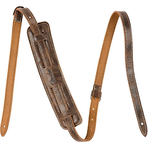 Fender Vintage-Style Distressed Leather Strap