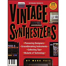 Backbeat Books Vintage Synthesizers Book