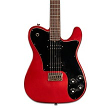 Vintage-T Aged Rosewood Fingerboard Electric Guitar Candy Red