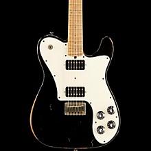 Friedman Vintage-T HH Maple Fingerboard Electric Guitar Black Parchment Pickguard