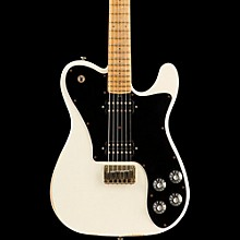Friedman Vintage-T HH Maple Fingerboard Electric Guitar Vintage White Black Pickguard