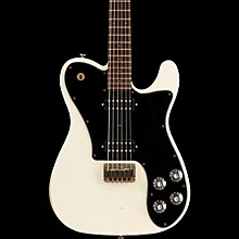 Friedman Vintage-T HH Rosewood Fingerboard Electric Guitar Vintage White Black Pickguard