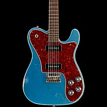 Friedman Vintage-T P90s Rosewood Fingerboard Electric Guitar Metallic Blue Tortoise Pickguard