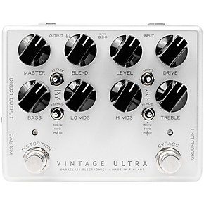 darkglass vintage ultra v2 bass preamp pedal guitar center. Black Bedroom Furniture Sets. Home Design Ideas