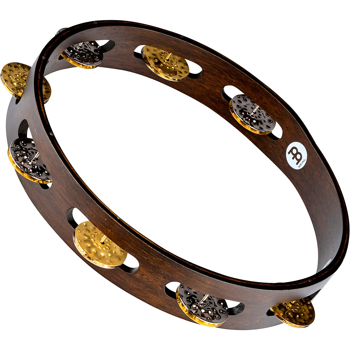 Meinl Vintage Wood Tambourine with Dual Alloy Jingles